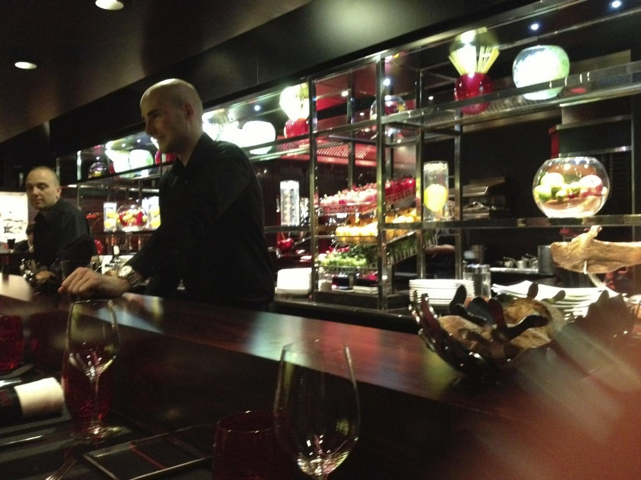 L Atelier 50 meal at l'atelier de joël robuchon etoile restaurant, paris