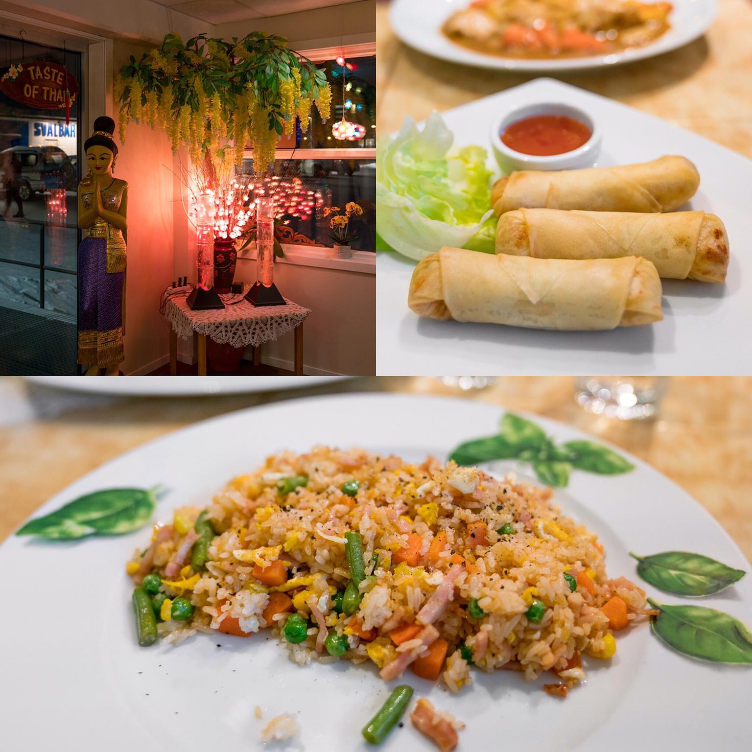 Dinner at Taste of Thai Restaurant, Longyearbyen   Jason Wang   17.06.2017    Foodle
