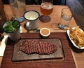 Dinner at Flat Iron