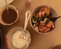 Dinner at Katz Orange