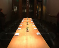 Dinner at a communal table at Chefs Michael and Meichih Kim's Palo Alto restaurant, Maum.