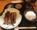 Lunch at Eel Mitsuru