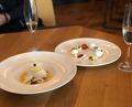 Desserts at Cosmos