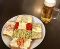 Lunch at Buffet Trzesniewski Dorotheergasse