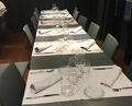 Dinner at the former Hartza,