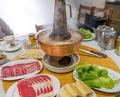 Dinner at 圍爐酸菜白肉火鍋