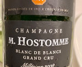 Hostomme tasting at la Clé