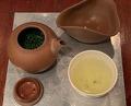 Dinner at Green tea House  茶の葉
