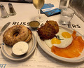 Dinner at Russ & Daughters