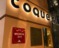 dinner at Coque