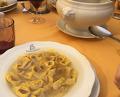 Dinner at Alla Borsa