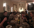 Dinner at Harwood Arms