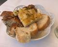 Lunch at Ristorante Le torri Monteriggioni