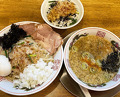 Dinner at 背脂煮干中華そば 我武者羅 初台店