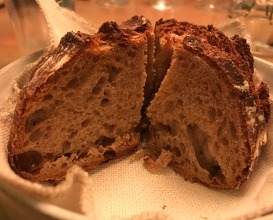 Sourdough bread made of spelt from Warbrokvrn with smoked hand churned butter from Kittelberger