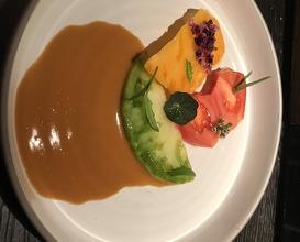 Dinner at Sosein. Restaurant