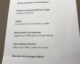 Bon-Bon, Woluwe-Saint-Pierre | Michelin Star Restaurant 2019