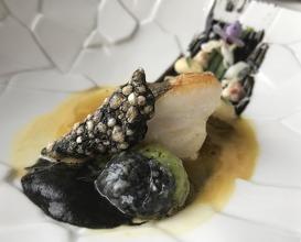 John Dory | Paella sauce | Sepia | Beans | Eel