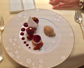 Diner at Auberge de l'Ill