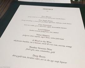 Dinner at Boka