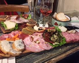 Dinner at La Prosciutteria - Bologna