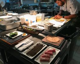 Dinner at Acadia