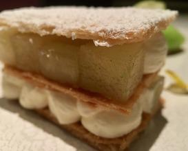 Millefeuille, Mouneyrac apples, liquorice, celery