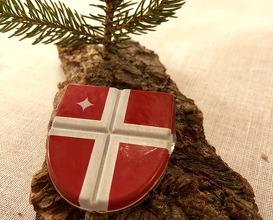 Chocolate shield -Oriado- infused with fir