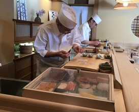 Lunch at Sushizen