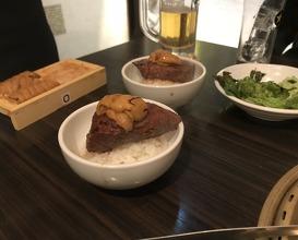 Dinner at SATOブリアンにごう