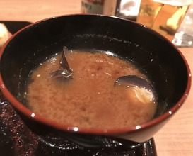 Dinner at Tempura Ginya