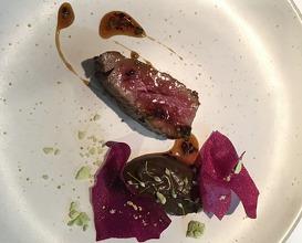 Wagyu beef, sherry, truffle, chive