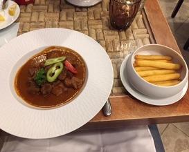 Dinner at Bock Bisztró