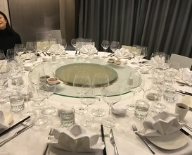 Dinner at a Private Dining Restaurant in Hong Kong