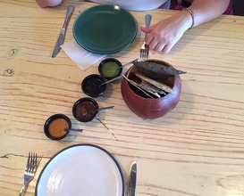 Lunch at Axiote. Cocina De México