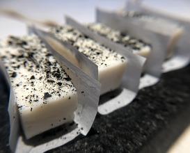 Smoked goats milk butter