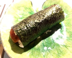 Temaki of tuna