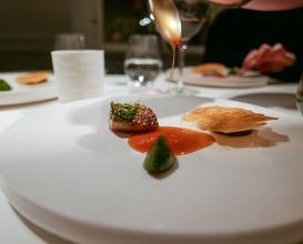 Dinner at Daniel Berlin