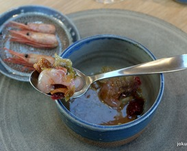 dried fruits and shrimps