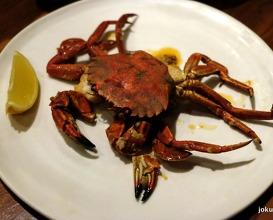 Cornwall velvet crabs
