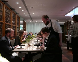 Dinner Japan Meets Iceland at OAD Kitchen