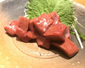 Raw horse liver