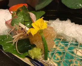 Sashimi: Tai, Ebi Ika and Karasumi