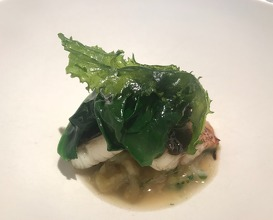 Swiss Chard / Eel / Egg Plant