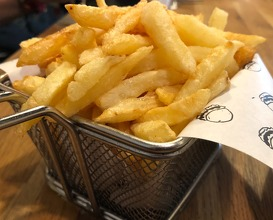 French fries - Homemade, hand-cut & triple-fried, with smokey salt & paprika