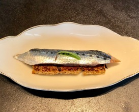 Sardine, sourdough, miso butter