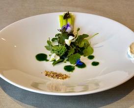 Asparagus and oil