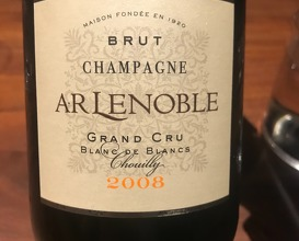 2008, A.R. Lenoble, Grand Cru Blanc de Blancs, Chouilly,' Champagne, France