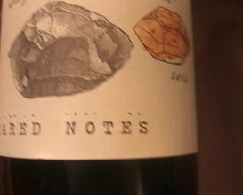 "Shared Notes ""Les Pierres Qui Décident"" Sauvignon Blanc Russian River Valley, CA 2014"