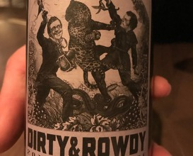 Dirty & Rowdy 'Shake Ridge Ranch'Mourvèdre, Amador County, CA 2016